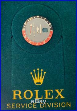 Rolex Submariner/GMT Master Coke Insert / Crystal / Hands. Genuine Rolex Parts