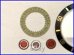 Rolex Submariner/GMT Master Insert / Crystal / Hands / Disc Genuine Rolex Parts