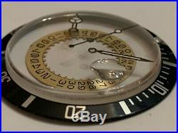 Rolex Submariner/GMT Master Insert / Crystal / Hands. Genuine Rolex Parts