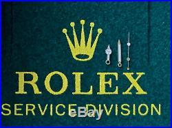 Rolex Submariner Hands 116610 White Gold Hands Set. Genuine Rolex Parts