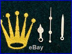 Rolex Submariner Hands 16610 White Gold Hands Set. Genuine Rolex Parts
