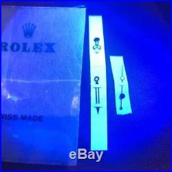Rolex Submariner Hours, Minutes & Seconds Gold Hands Luminova Set NOS