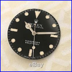 Rolex Submariner Ref. 5513 Vintage Tritium Dial And Matching Hands 100% Genuine