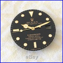 Rolex Submariner Tritium Vintage Dial And Hands 100% Genuine 16813 16803 16808