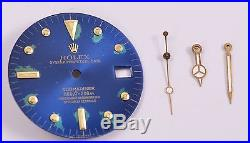 Rolex Submariner Tropical Nipple Dial 4 lines 660 ft with Hands for Ref 1680