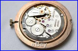 Rolex Tudor Hand winding movement with Dial, Crown & Hands for Parts or Repair