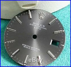 Rolex Vintage Gunmetal dialand hands for Date 1500/1505/15000