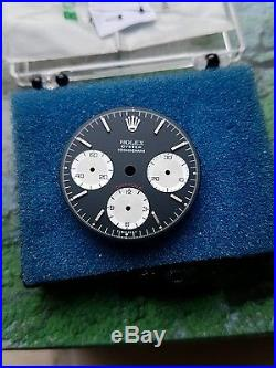 Rolex daytona dial and hands model 6263 NEW service dial and hands