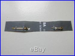 Rolex yellow gold hour & minute hand Submariner case 116618 Luminova