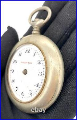 Roskopf Prim Hand Manuale Vintage 51 MM No Funziona For Parts Pocket Watch