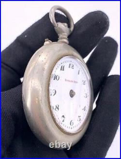 Roskopf Prim hand manual vintage 51 mm NO Funciona for parts pocket watch