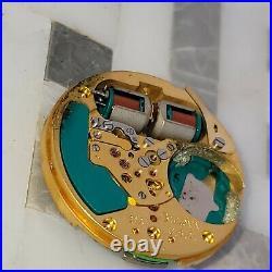 Rt5 Original Bulova Accurton 214 Spaceview Watch Movement Hands Parts Repair