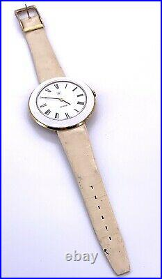 Scholl Ut 6365N Hand Manuale 44,5 MM No Funziona For Parts Balance Ok Watch
