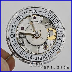 Seagull 2836 movement with GMT function DIY 4 HANDS FOR gmt master