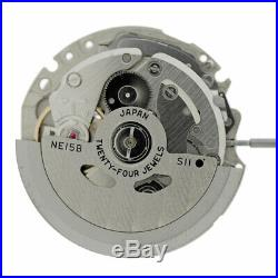 Seiko NE15 Automatic Watch Movement 3 Hands For SARB Models Replace 6R15 New