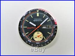 Set Of Dial, Hands, Inner & Outer Bezel For 6139-6032/30 Coke Speedtimer Parts