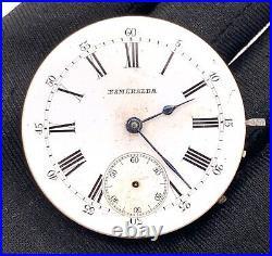Smeraldo Extra 11743 Hand Manuale Vintage 40,5 MM No Funziona For Parts