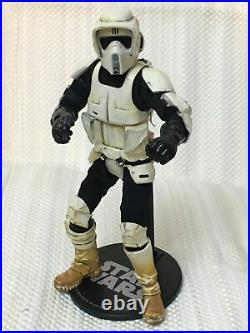 Star Wars Scout Trooper 1/6 Scale Hand Made Figure Sideshow Body Hasbro Parts