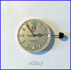 TAG Heuer 2000 Professional (WK1111) grey dial, movement, hands