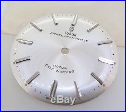 Tudor 7965 Prince Oyster Dial & Hands Small Rose Steel Batons New Old Stock