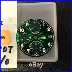 TUDOR x TIGER Chrono Time Green Dial 6 Clock hands set Ref. 79260 79280