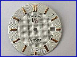 Tag Heuer Carrera Dial, Hands, Crystal Authentic Tag Heuer Parts Swiss Made