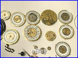 Tag Heuer Watch Dial / Hands / Crystal. Genuine Tag Heuer Watch Parts