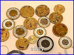 Tag Heuer Watch Dial / Hands / Crystal. Genuine Tag Heuer Watch Parts Original