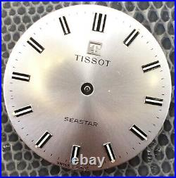 Tissot Seastar 781 Doesn'T Works For Parts Hand Manual 28,3 MM Vintage Watch
