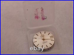Tissot Tissonic watch dial, hands and movement for parts or repair (untested)