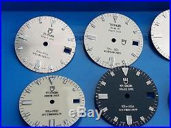 Tudor Dial Vintage 10 Dial & Hands original, New old Stock