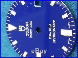 Tudor vintage Hydronaut Dial 27.5mm. And Hands, perfect condition