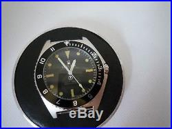 Type 1 Benrus Submariner homage case, dial movement and hands, Miyota movement