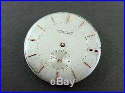 ULYSSE NARDIN Hand Winding 27mm Movement & 35mm Dial. Working! Ca 1940s