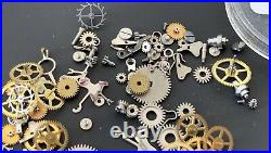 UNIVERSAL GENEVE Cal. 216 lot lote parts lot vintage hand manual movement watch