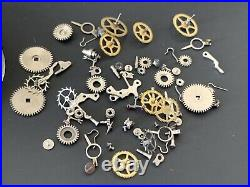 UNIVERSAL GENEVE Cal. 245 lot lote parts lot vintage hand manual movement watch
