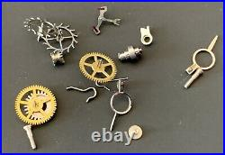 UNIVERSAL GENEVE Cal. 255 lot lote parts lot vintage hand manual movement watch