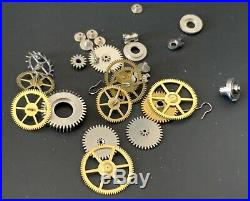 UNIVERSAL GENEVE Cal. 267 lot lote parts lot vintage hand manual movement watch