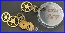 UNIVERSAL GENEVE Cal. 267 lote parts lot vintage hand manual movement watch