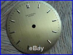 UNIVERSAL GENEVE Dial and hands for CAL. 139 / 138 ss