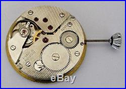 UT 6498 pocket watch movement with dial and hands, 16 1/2''' 17J. NOS swiss made