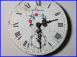 UT Unitas 6498 movement Arnex dial with 3 hands, broken for parts