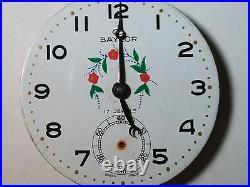 UT Unitas 6498 movement flower Baylor dial hands, broken for parts