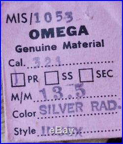 Ultra Rare Omega Speedmaster Alpha Hands Pair NOS 1950s/60s CK2998 2915 105.002