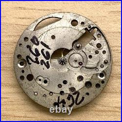 Universal Genève 260 261 264 Hand Manual 23,5mm Doesn'T Works For Parts Watch