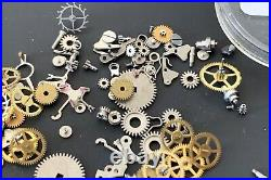 Universal Genève Cal. 216 Lot Lotto Parts Vintage Hand Manuale Movement Watch