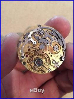 Universal Geneve Cal 285 movement dial and hands, For parts, repair, project