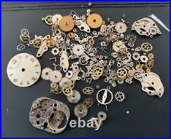 Universal Genève Cal. 500 501 Lot Parts Lot Vintage Hand Manual Watch