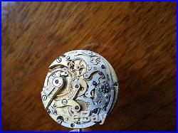 Universal Geneve Unicompax Cal 285 complete movement running with dial and hands