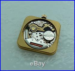 Universal Geneve Watch Quartz Movement1-43 With Dial/crown/hands/running/parts